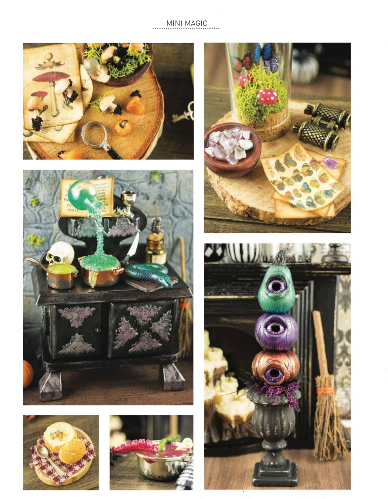 Featured in the Halloween Issue of American Miniaturist Magazine