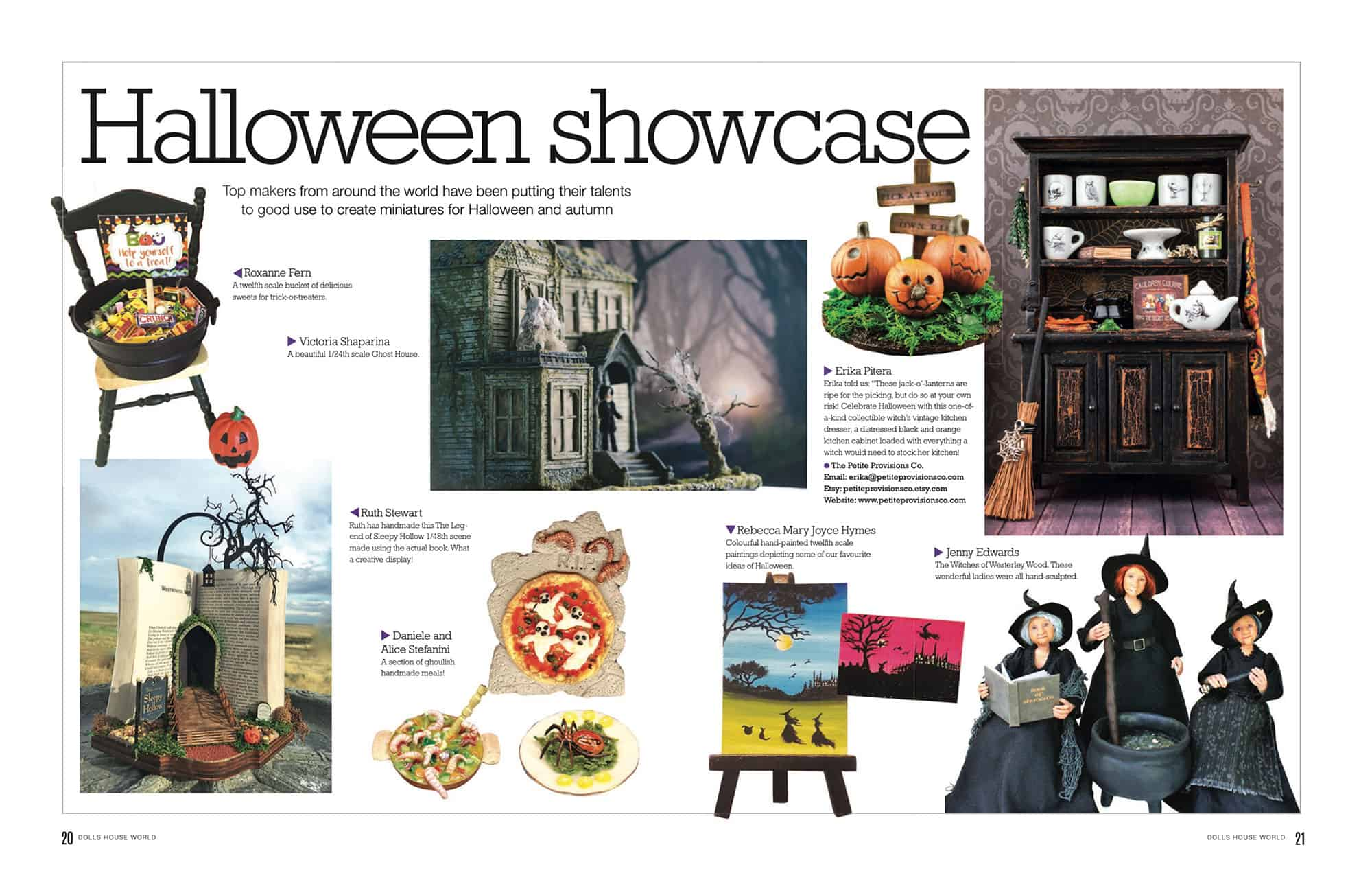 Featured in the October 2019 Issue of Dollshouse World