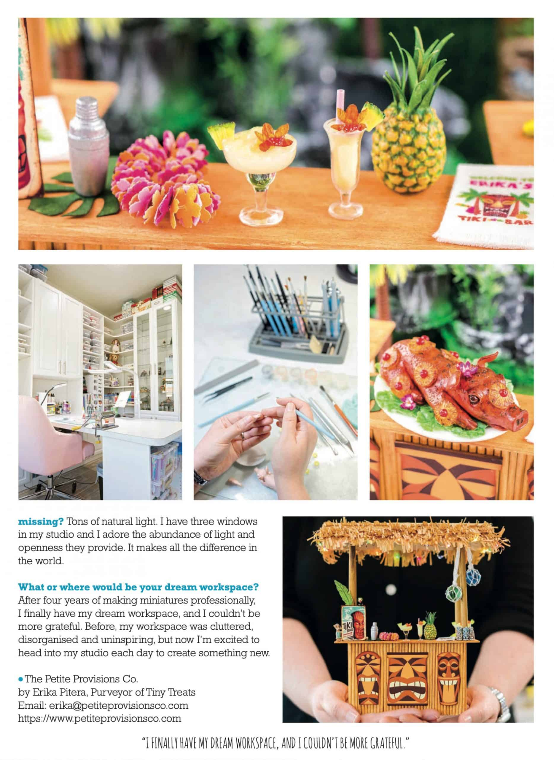 Featured in June 2020 Issue of Dollshouse World
