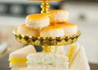 Afternoon Tea with Petits Fours, Scones and Finger Sandwiches