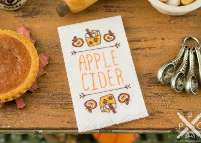 Apple Cider Autumn Tea Towel