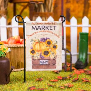 Autumn Harvest Market Garden Flag