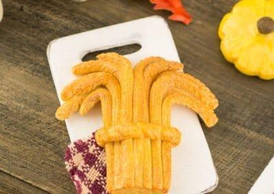 Autumn Harvest Wheatsheaf Bread Loaf