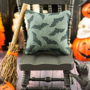 Bats Halloween Pillow