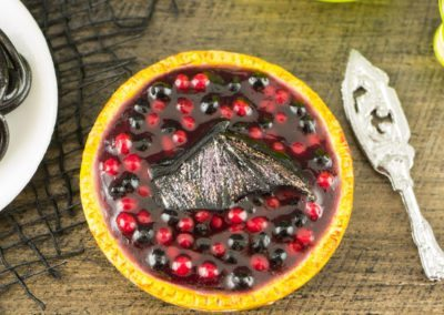 Bat Wing Berry Pie