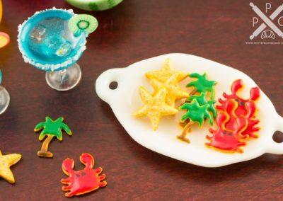 Summer Cookie Assortment – One Dozen – Beach Designs