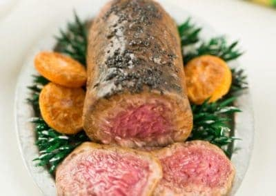 Roasted Beef Tenderloin Christmas Dinner