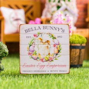 Bella Bunny's Easter Egg Emporium Sign