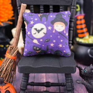 Bewitching Halloween Pillow