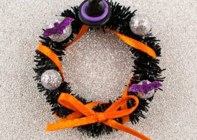 Bewitching Halloween Wreath