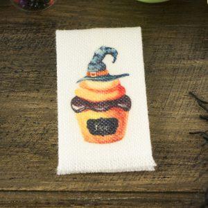 Boo Cupcake Tea Towel