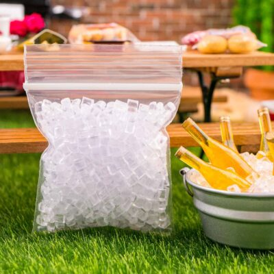 Dollhouse Miniature Ice Cubes in Bulk - 1:12 Dollhouse Miniature Supplies - Small Bag