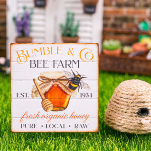 Bumble & Co. Bee Farm Sign