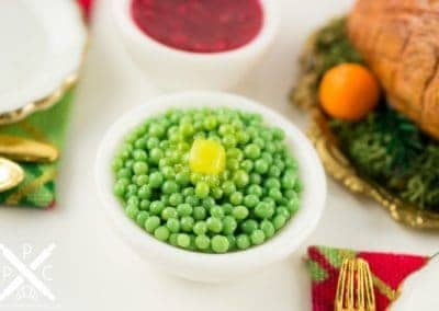 Buttered Green Peas