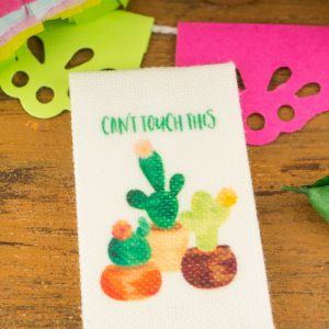 Can't Touch This Cactus Tea Towel