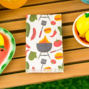 Grillin' & Chillin' Tea Towel