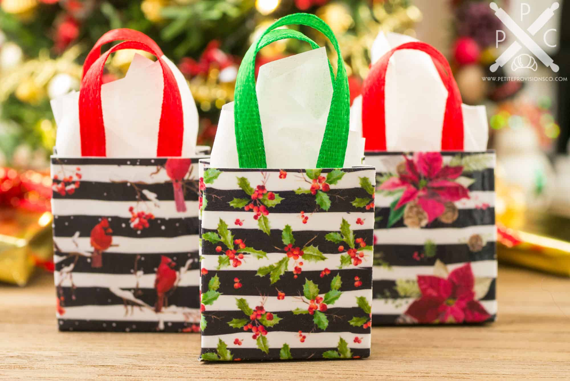 Christmas tree decoration christmas candy gift bags cute christmas