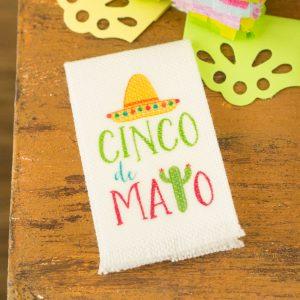 Cinco De Mayo Sombrero Tea Towel