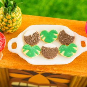 Coconuts and Tropical Leaves Cookies – Half Dozen