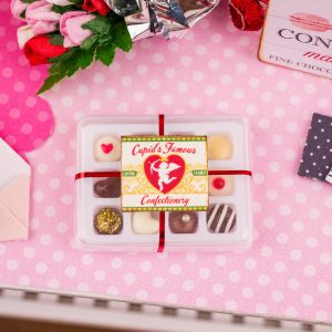 Cupid's Famous Confectionery Gourmet Chocolate Box