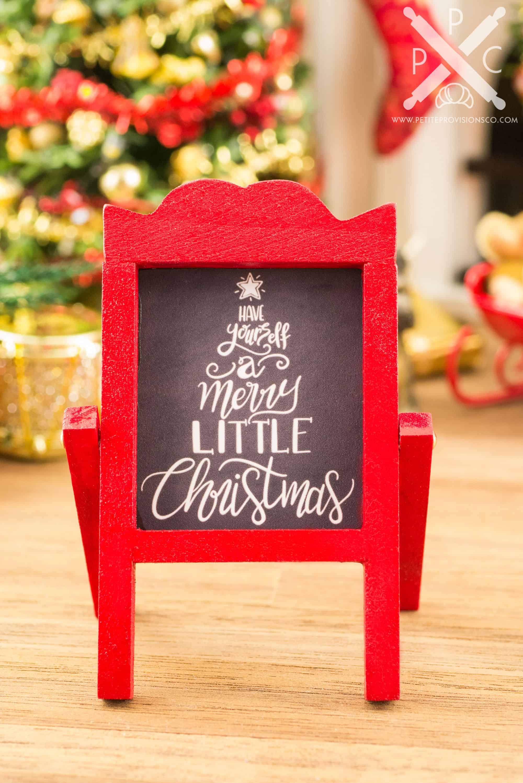 A Charming Christmas Sign