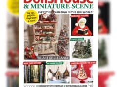 Featured in December 2020 Issue of DollsHouse & Miniature Scene Magazine