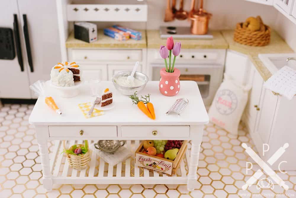 Easter Baking in Miniature