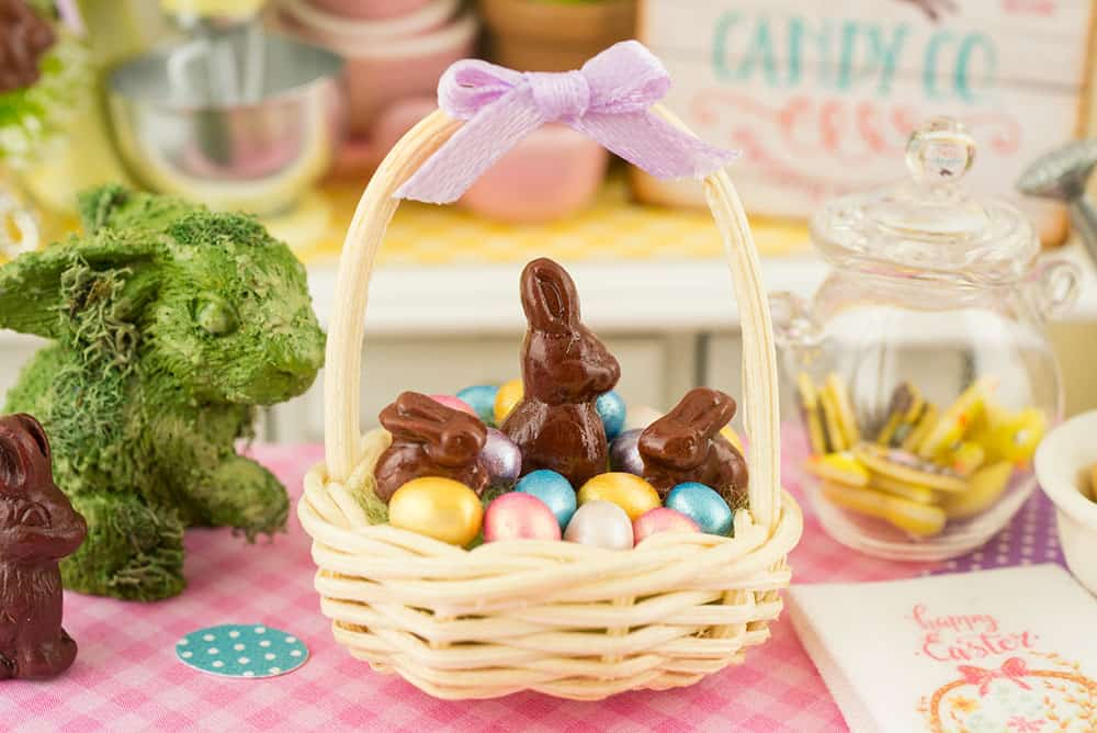 Easter Miniatures in One Inch Scale