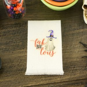 Fab-Boo-Lous Ghost Tea Towel