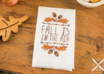 Fall Is In The Air Autumn Tea Towel