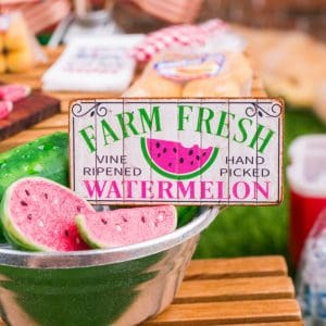 Farm Fresh Watermelon Sign