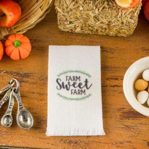 Farm Sweet Farm Tea Towel