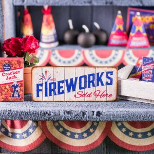 Fireworks Sold Here 4th of July Sign