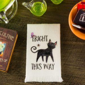 Fright This Way Tea Towel