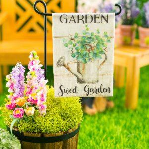 Garden Sweet Garden Spring Garden Flag
