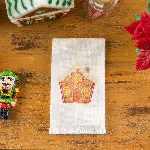 Gingerbread House Tea Towel