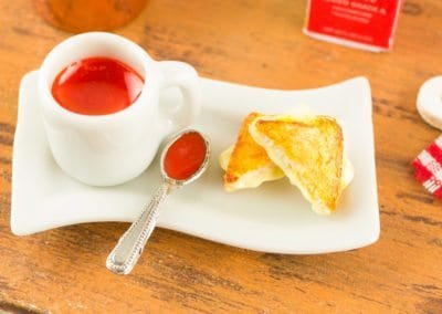 Grilled Cheese and Tomato Soup Combo