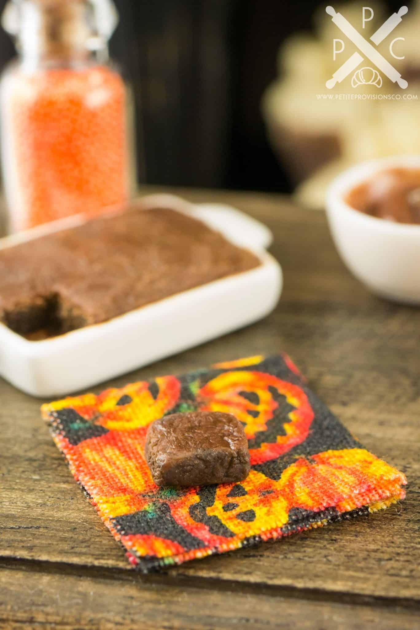 halloween brownie making set