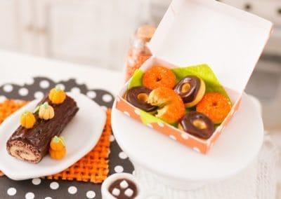 Halloween Doughnuts – Half Dozen