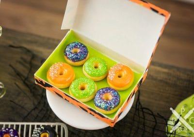 Halloween Doughnuts in Batty Box – Half Dozen