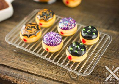 Halloween Jelly Doughnuts – Half Dozen