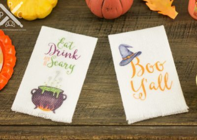 Halloween Tea Towels – Set of 2