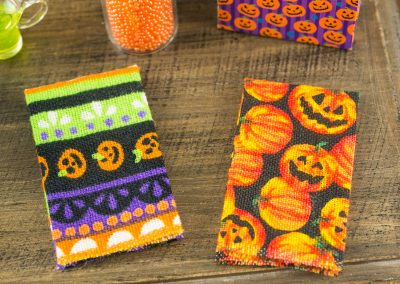 Halloween Print Tea Towel