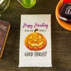 Happy Haunting Tea Towel