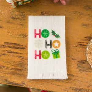 Ho Ho Ho Christmas Tea Towel
