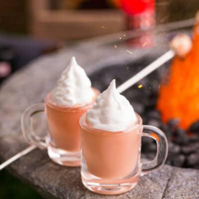 Dollhouse Miniature Hot Cocoa for Two - 1:12 Dollhouse Miniature Hot Chocolate