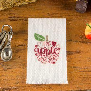 It's Apple Season Tea Towel