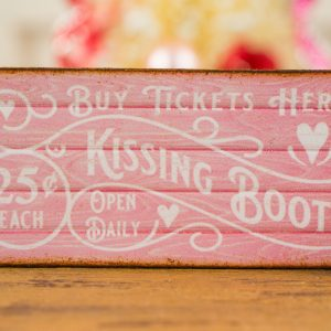 Kissing Booth Valentine's Day Sign