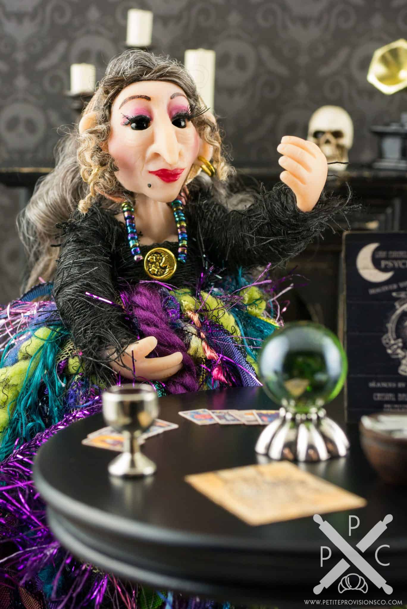 Lady Esmerelda the Fortune Teller