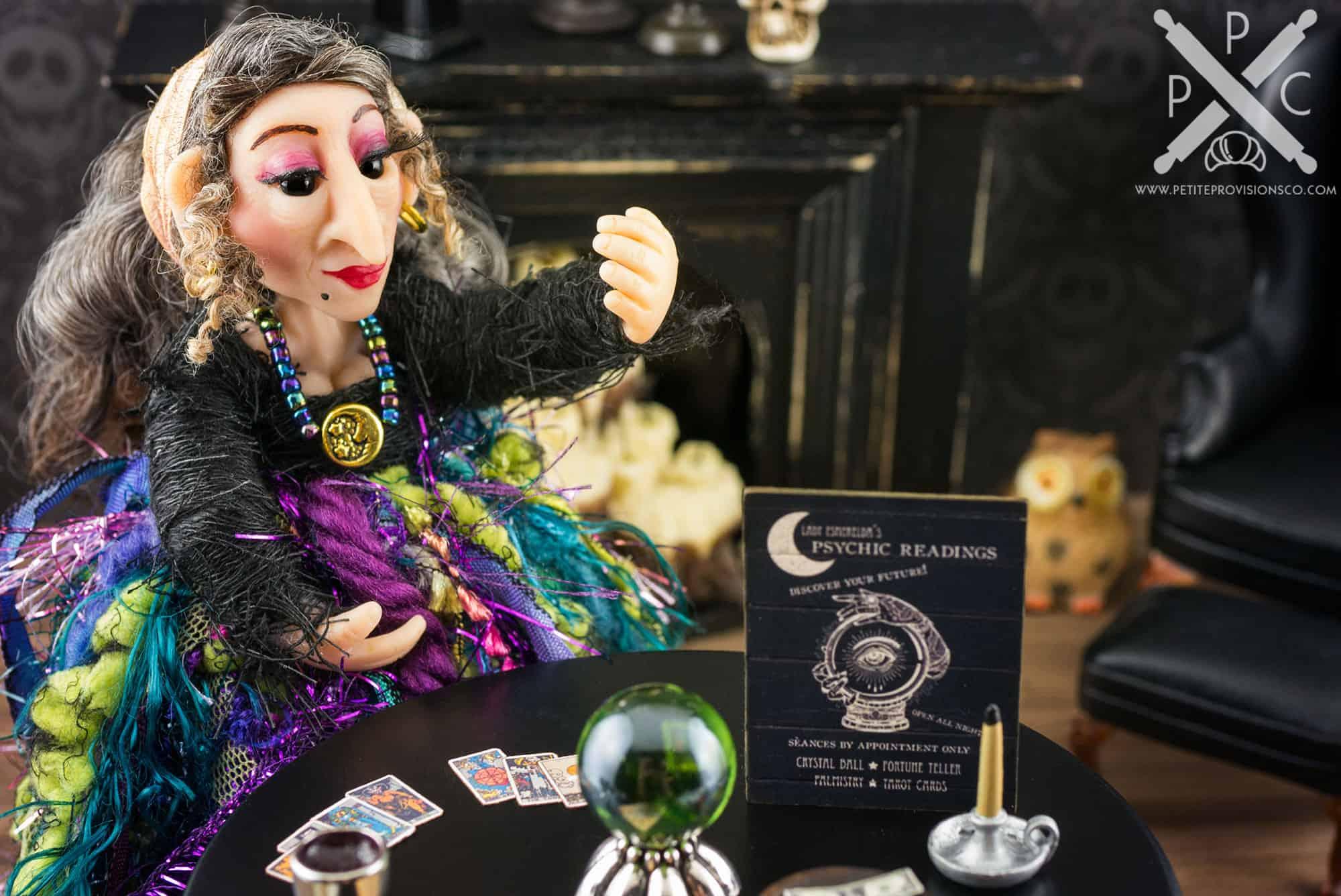 Lady Esmerelda the Fortune Teller